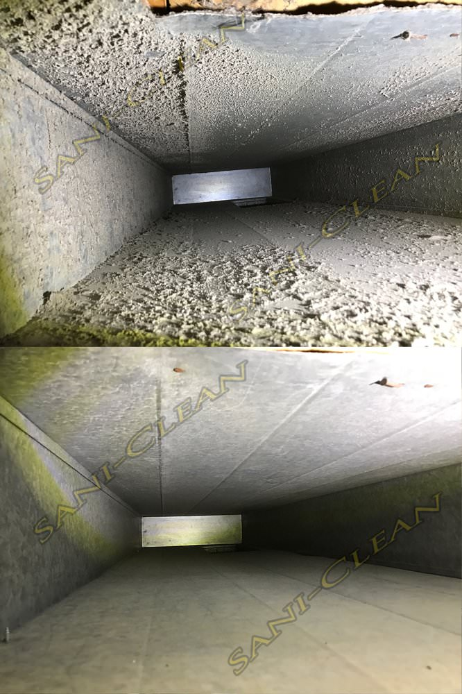Air Duct Cleaning Before And After Pictures And Duct And