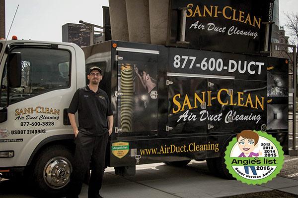 Air Duct Cleaning St Clair County Mi Sani Clean Air