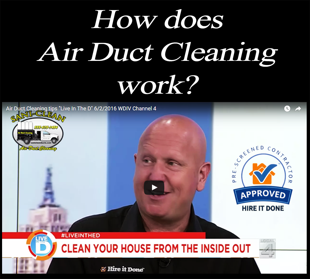 See Sani-Clean on WDIV Channel 4 with Adam Helfmen of Hire It Done on youtube