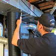 cleaning main ducts